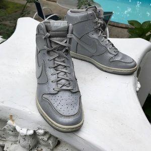 """b9fe58cf3ce276 Nike Shoes - Nike """"Dunk Sky Hi"""" Wedge Sneakers"""